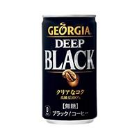【ケース販売】日本コカ・コーラ ジョージア ディープブラック 缶 185g×30本