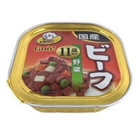 ビタワングー ビーフ 野菜 11歳以上 100g