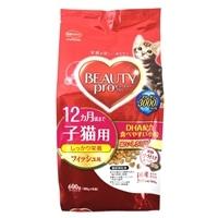 ビューティープロ キャット 12ヶ月頃まで子猫用 フィッシュ味 600g