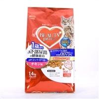 ビューティープロ キャット 1歳から 猫下部尿路の健康維持 チキン味 1.4�s