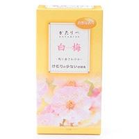 日本香堂 かたりべ 白梅 バラ 140g