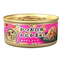 懐石缶 かつお白身 かにかま添え 魚介だしスープ 60g