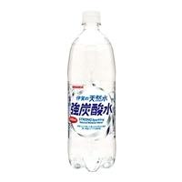 【ケース販売】サンガリア 伊賀の天然水 強炭酸水 1L×12本