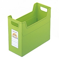 セラピーカラー ファイルボックス グリーン TC4-KG