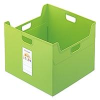 セラピーカラー ファイルボックス W グリーン TCW5KG