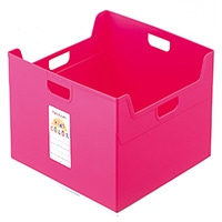 セラピーカラー ファイルボックス W ピンク TCW5KP