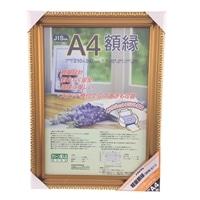 ナカバヤシ 軽量額縁 樹脂製 金ケシ A4判 フ-KWP-33