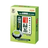 オリヒロ 食事のおともに 食物繊維入り 緑茶 6g×60包