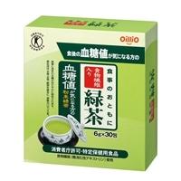 オリヒロ 食事のおともに 食物繊維入り 緑茶 6g×30包