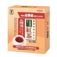オリヒロ 食事のおともに 食物繊維入り 紅茶 6g×30包