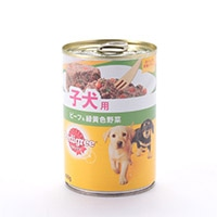P14チャム 子犬用スタンダードビーフ野菜400g