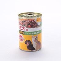 ペディグリー 缶 成犬用角切ビーフ&緑黄色野菜 400g