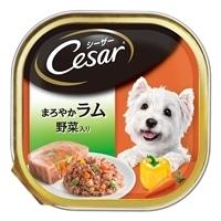 【ケース販売】シーザー まろやかラム 野菜入り 100g