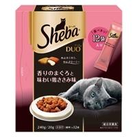 シーバ デュオ 香りのまぐろと味わい鶏ささみ味 240g