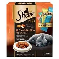 シーバ デュオ 鶏ささみ味と海のセレクション 240g