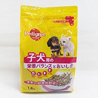 ぺディグリー 子犬用 チキン&野菜 1.8Kg