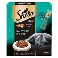 【数量限定】シーバ デュオ 旨みがつおとひらめ味 240g