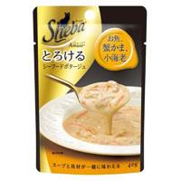 シーバ アミューズ ポタージュ お魚蟹かま小海老 40g