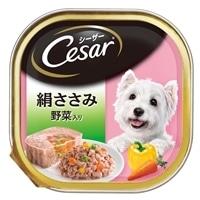 【ケース販売】シーザー 絹ささみ 野菜入り 100g