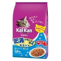 カルカン ドライタイプ 肥満が気になる猫用 毛玉ケア まぐろと野菜味 1.6kg