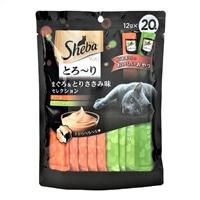 シーバ とろ〜りメルティ まぐろ&とりささみ味セレクション 12g×20本