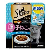 シーバ デュオ 12ヶ月までの子ねこ用 クリーミーミルク味 200g