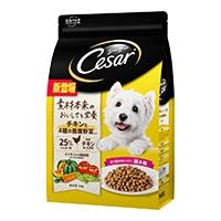 シーザードライ 成犬用 チキンと4種の農園野菜入り 超小粒 3kg