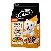 シーザードライ 成犬用 ラムと4種の農園野菜入り 小粒 3kg