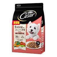 シーザードライ 成犬用 ツナと4種の農園野菜入り 小粒 3kg
