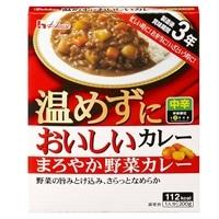 ハウス 温めずにおいしいカレー まろやか野菜カレー