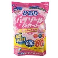 白元アース かおりパラゾール 徳用 800g+80g