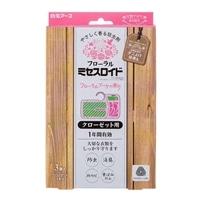 【数量限定】白元アース フローラルミセスロイド クローゼット用 フローラルブーケの香り 3個入