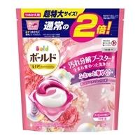P&G ボールド ジェルボール3D 癒しのプレミアムブロッサムの香り つめかえ用 特大 32個