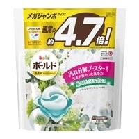 P&G ボールド ジェルボール 3D グリーンガーデン&ミュゲの香り つめかえ用 メガジャンボ 70個