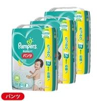 【ケース販売】P&G パンパース (パンツ) Mサイズ[6-11kg] 222枚(74枚×3個)