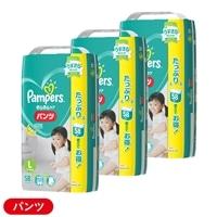 【ケース販売】P&G パンパース パンツ/ウルトラジャンボ L174枚(58枚 [9-14kg]×3個)