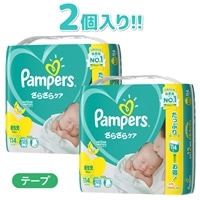 P&G パンパース テープ クラブパック 紙おむつ 新生児 228枚(114枚×2個) [5kgまで]