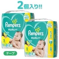 P&G パンパース クラブパック (テープ) Sサイズ [4-8kg] 204枚(102枚×2個)