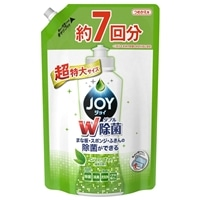 P&G ジョイ コンパクト ダブル除菌 緑茶の香り 詰替 超特大 1065ml