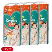 【ケース販売】P&G パンパース はらまきパンツ Mサイズ[6-11kg] 208枚(52枚×4個)