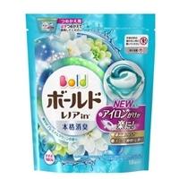 P&G ボールドジェルボール 3D プレミアムクリーンの香り 18個入 つめかえ用 柔軟剤入り洗剤