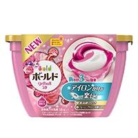 【数量限定】P&G ボールドジェルボール 3D プレミアムブロッサムの香り 18個入 本体 柔軟剤入り洗剤