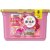 【数量限定】P&G ボールド ジェルボール Wプラチナ プラチナブロッサム&ピオニーの香り 本体 18p 洗濯洗剤