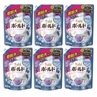 【ケース販売】P&G ボールド 香りのサプリインジェル クラッシーフローラル&サボンの香り 特大 1.12kg×6個 洗濯洗剤