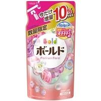 【数量限定】P&G ボールド プラチナフローラル&サボンの香り つめかえ用 増量 790g 柔軟剤入り洗剤