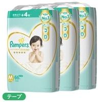 【ケース販売】P&G パンパース 肌へのいちばん (テープ) Mサイズ[6-11kg] 198枚(66枚×3個)