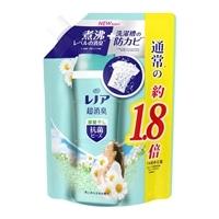 P&G レノア本格消臭 抗菌ビーズ グリーンフレッシュハーブの香り(部屋干し用) 詰替 760ml