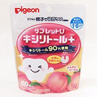 ピジョン タブレットU ピーチ味 60粒