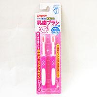 ピジョン 乳歯ブラシレッスン4 ピンク