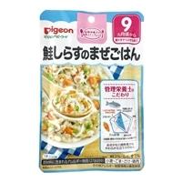 ピジョン 食育レシピ 鮭しらすのまぜごはん 80g